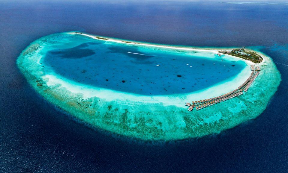 Baa-Atoll, Malediven, Inselresort Finolhu