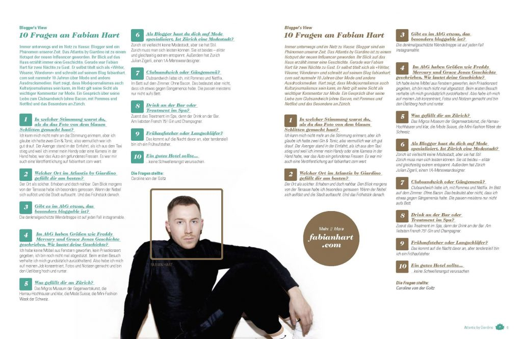 Fabian Hart für Giardino Group Magazin