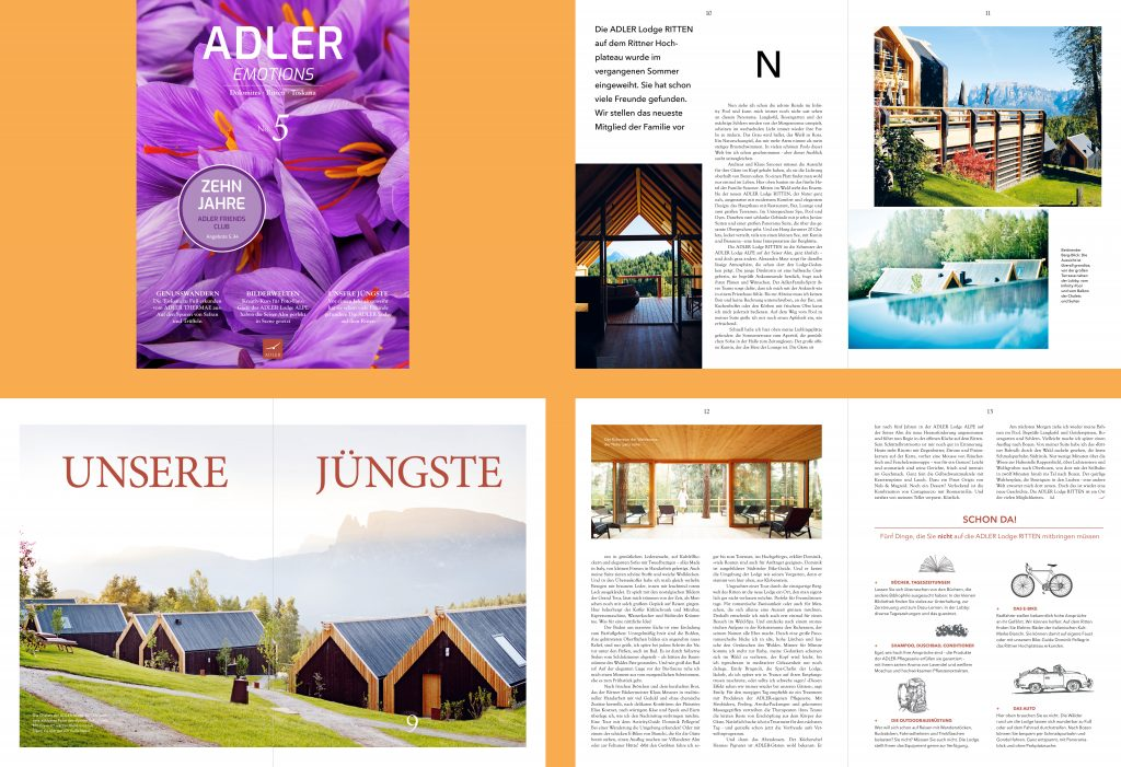 Magazin – ADLER Spa Resorts & Lodges