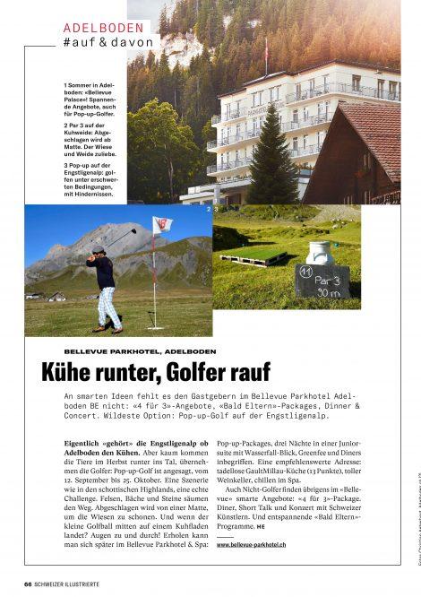 schweizer illustrierte bellevue parkhotel adelboden